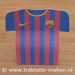 Afbeelding van de traktatie FC Barcelona voetbalshirt