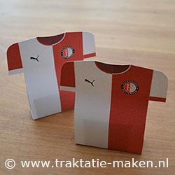 Traktatie Feyenoord Voetbalshirt Feyenoord Voetbalshirt Traktatie
