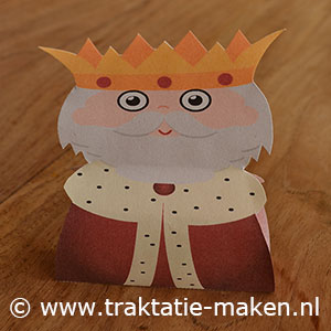 afbeelding traktatie Sprookjes Koning