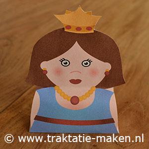 afbeelding traktatie Sprookjes Prinses