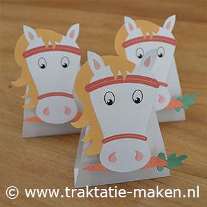 afbeelding traktatie Paard van Sinterklaas