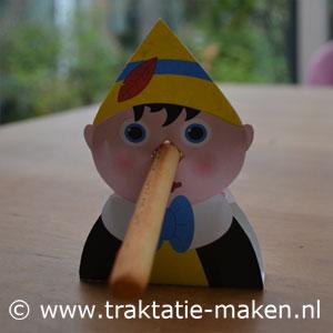 afbeelding traktatie Pinokkio