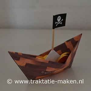 afbeelding traktatie Piratenbootje