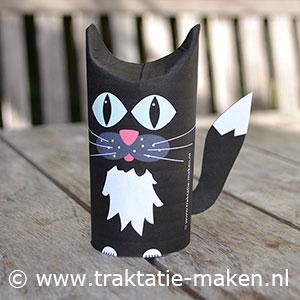 afbeelding traktatie Zwarte kat