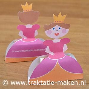 afbeelding traktatie Prinsesje met rozijnen