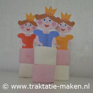 afbeelding traktatie Prinsesjes