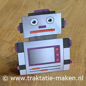 afbeelding traktatie Robot