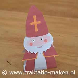 afbeelding traktatie Sinterklaas