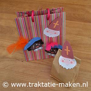 afbeelding traktatie De zak van Sinterklaas