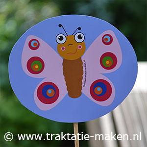 afbeelding traktatie Vlindertjes