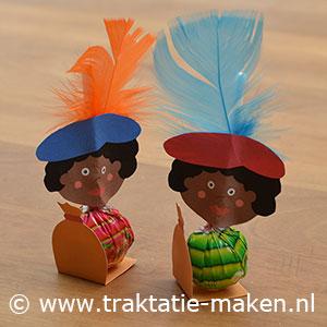 afbeelding traktatie Zwarte Pieten lolly